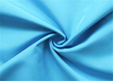 China Navy Blue Polyester Lining Fabric Pongee Comfortable Hand Feel Shrink - Resistant supplier