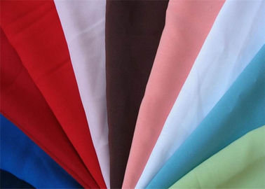 China Woven & Dyeing 300T Polyester Pongee Fabric Colorful Eco - Friendly supplier