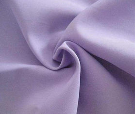China Purple Polyester Spandex Fabric , Light And Elegant Pongee Lining Fabric supplier