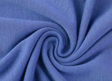 China Knitted 95 Cotton 5 Spandex Fabric Smooth Surface For Pajamas Clothing Textile supplier
