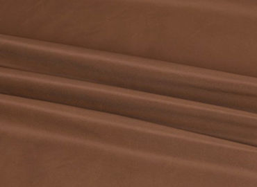 China 75D * 150D 210T Stretch Polyester Fabric , Memory Brown Polyester Fabric supplier