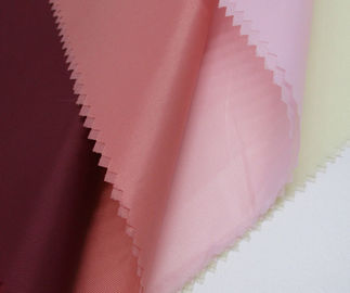 China Super Soft PA Coating Fabric 40 * 50D Yarn Count Anti - Static For Bag Cloth supplier