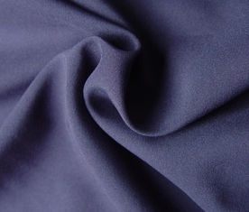 China Purple 100% Polyester Woven Fabric 78 Gsm Customized Color Eco - Friendly supplier