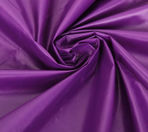 China Purple 380T Ripstop 100 Nylon Fabric Taffeta Colorful Tear - Resistant supplier