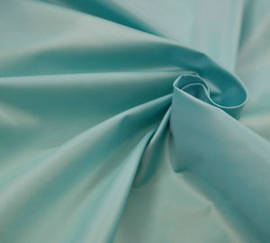 400T Plain Dyed Polyester Taffeta Fabric 30 * 30D Customized Color For Cloth