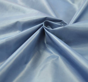 China 40 * 40D Plain Dyed PA Coating Fabric 320T Poly Taffet Smooth Surface Waterproof supplier