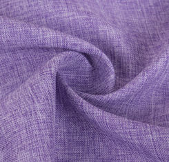China 300 * 300D Purple Polyester Knit Fabric Comfortable Hand Feel Washable supplier