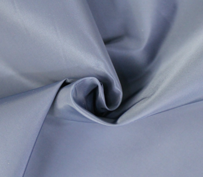 Skin - Friendly Polyester Rayon Fabric , Water Resistant Polyester Fabric