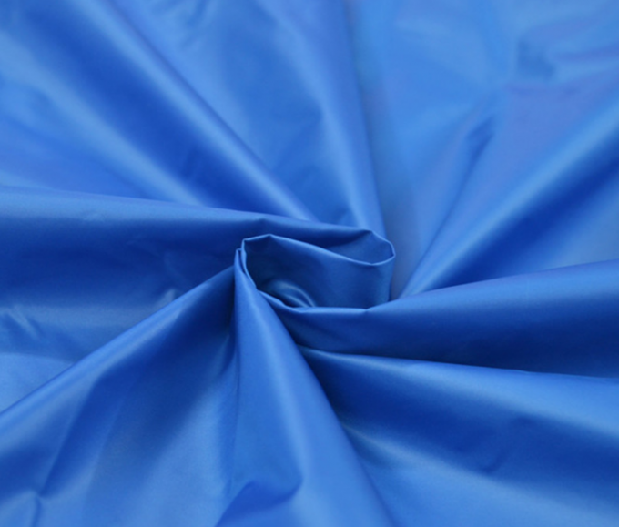 PU / PA Coated Polyester Taffeta Fabric 420T Plain Dyed 20 * 20d Yarn Count