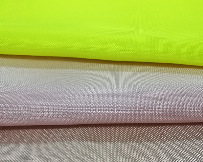Durable 1680D Oxford Nylon Knit Fabric 465gsm Plain Dyed For Bag Cloth