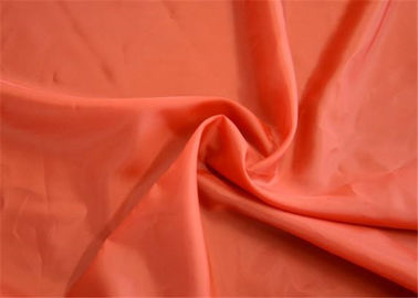 Plain Grey Taffeta Fabric / Lightweight Polyester Fabric Skin - Friendly