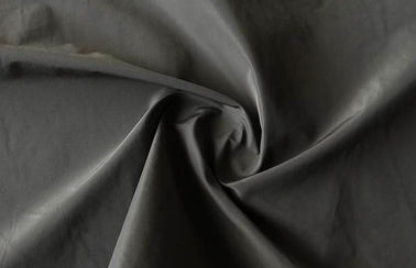 Imitated Polyester Memory Fabric 30 * 30D 75 Gsm For Down Coat Customized Color