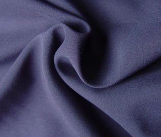 Purple 100% Polyester Woven Fabric 78 Gsm Customized Color Eco - Friendly