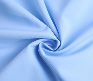 Blue  4 Way Stretch Yarn Dyed Fabric 95 Polyester 5 Spandex Fabric For Lining