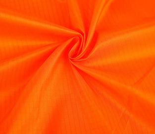 Plain Dyed Woven Nylon Fabric 300T Customized Color For Sportswear