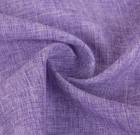 300 * 300D Purple Polyester Knit Fabric Comfortable Hand Feel Washable